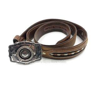 Cabela's Leather Belt